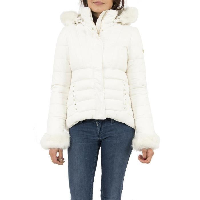 Guess Doudounes jeans w74l65 doris noir pas cher Achat