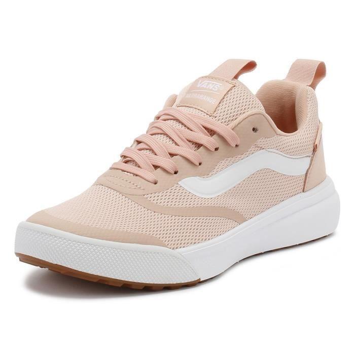 basket vans femme rose