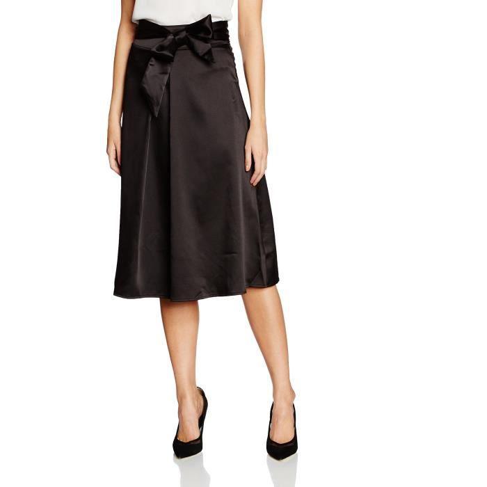 a49d9b8ef852a7 Cravate réglable Femmes satin Jupe mi-longue A9ENQ Taille-44