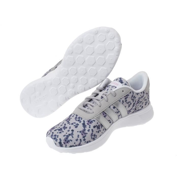 Chaussures basses cuir ou synthétique Lite racer w imp clair - Adidas neo