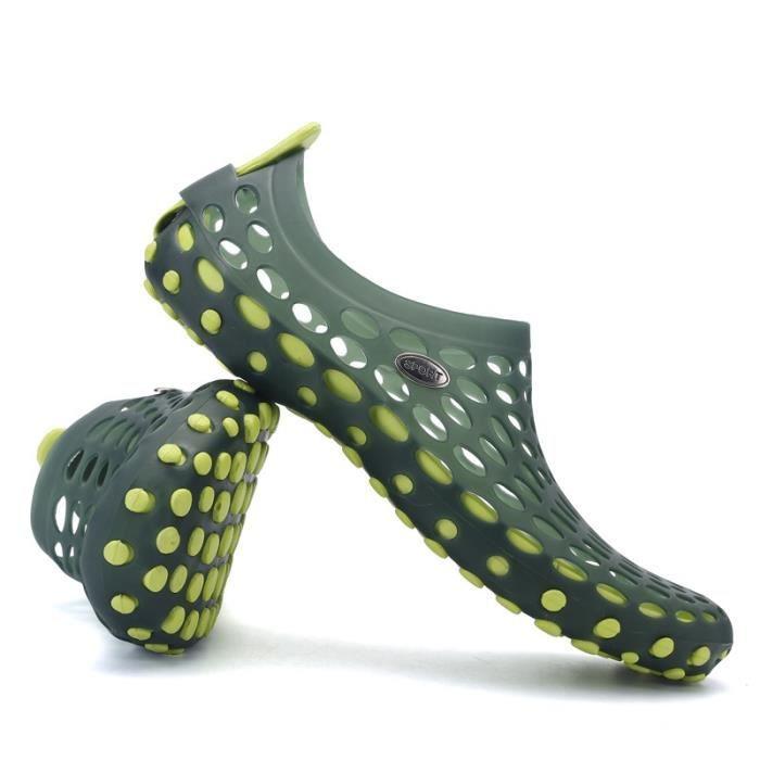 Évider Chaussures de plage Sandales pour hommes