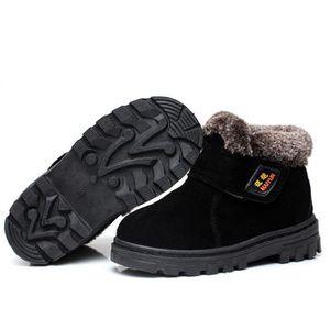 Martin Boots Enfants Hiver Garçons Fille Durable Chaussures FXG-XZ101Vert31 J7RUA