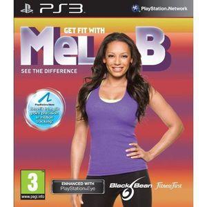 JEU PS3 GET FIT WITH MEL B / jeu PS3 compatible PS Move
