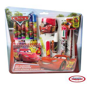 CARS - Set multi activités - Coloriage - Découpage - Carnet
