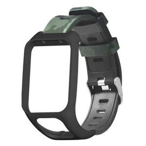 MONTRE Remplacement silicone montre bracelet bande pour T