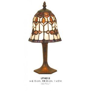 LAMPE A POSER Tiffany Lampe de table de diamètre 15cm, hauteur 3