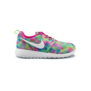 BASKET Basket Nike Roshe One Print Junior Rose 677784-607