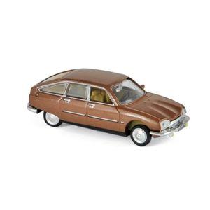 VOITURE - CAMION Miniatures montées - Citroen GS Pallas marron méta