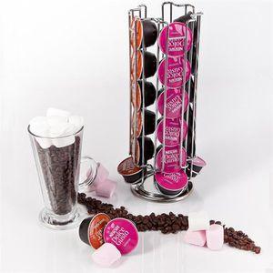 DISTRIBUTEUR CAPSULES Porte-capsules à café Dolce Gusto rotatif pour 24