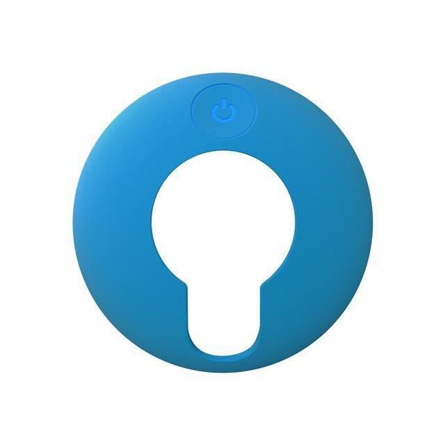 Coque de protection en silicone bleue pour TomTom VIO (9UUA.001.68)