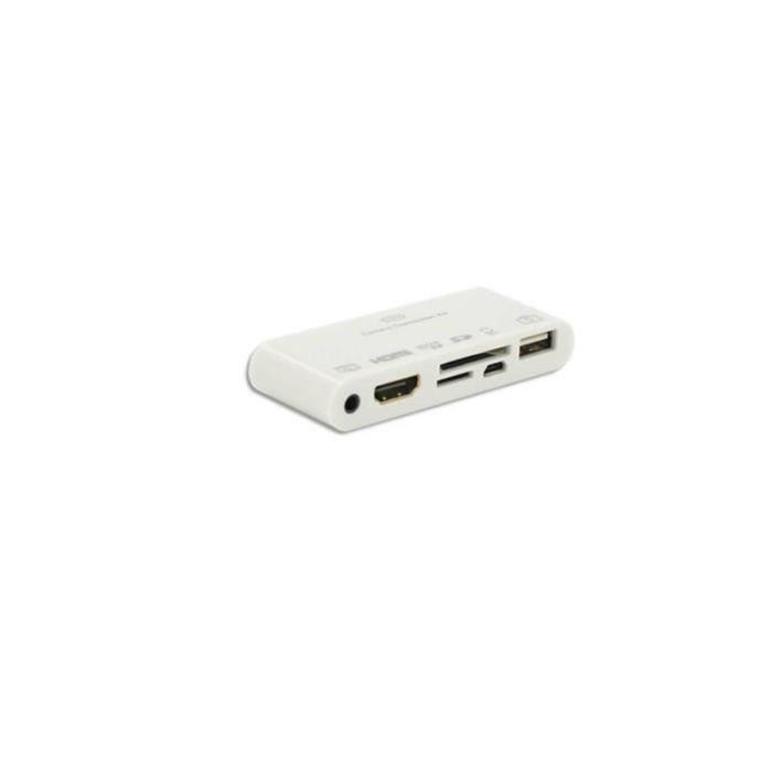 ML Chargeur secteur + 30 pins Connectique Samsung et adaptateur tablette - Noir