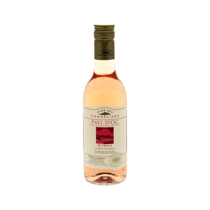 VIN ROSÉ Rosé Pays d'Oc Syrah IGP Club des Sommeliers - 25
