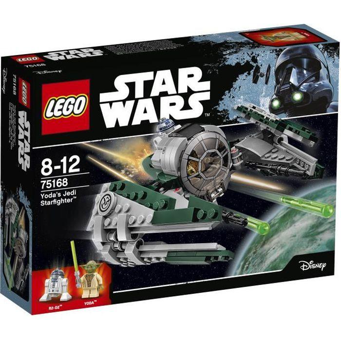 ASSEMBLAGE CONSTRUCTION LEGO® Star Wars 75168 Yoda's Jedi Starfighter™