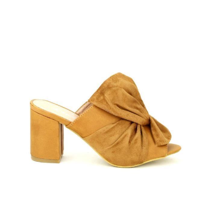 sandale - nu-pieds, Sandales Caramel Chaussures Femme, Cendriyon