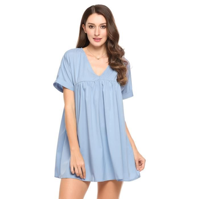 robe de femmelâche V-Neck