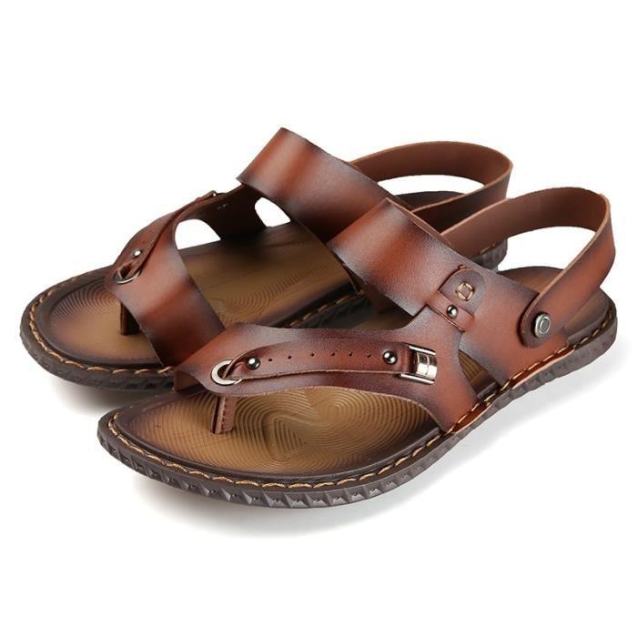 Sandales imperméable et respirant Chaussures de plage pour hommes ZV3KbzM