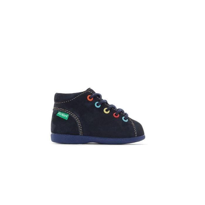 f9bef1cc027b54 Boots Kickers Babystad - 61109010010 Bleu Bleu - Achat / Vente ...