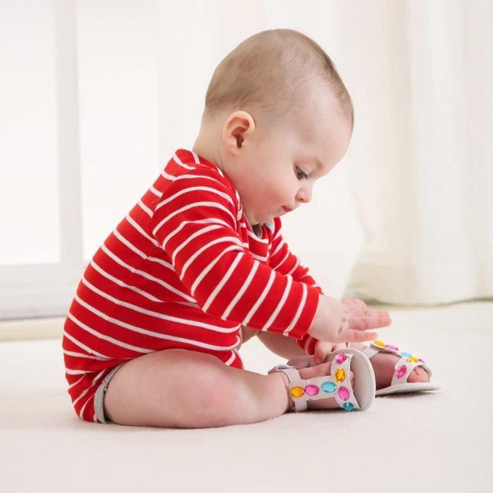 bas BlancHM Enfant baskets en âge BOTTE anti bébé fille chaussures sandales été dérapant crèche bébé cristal garçon aEq1wwdx