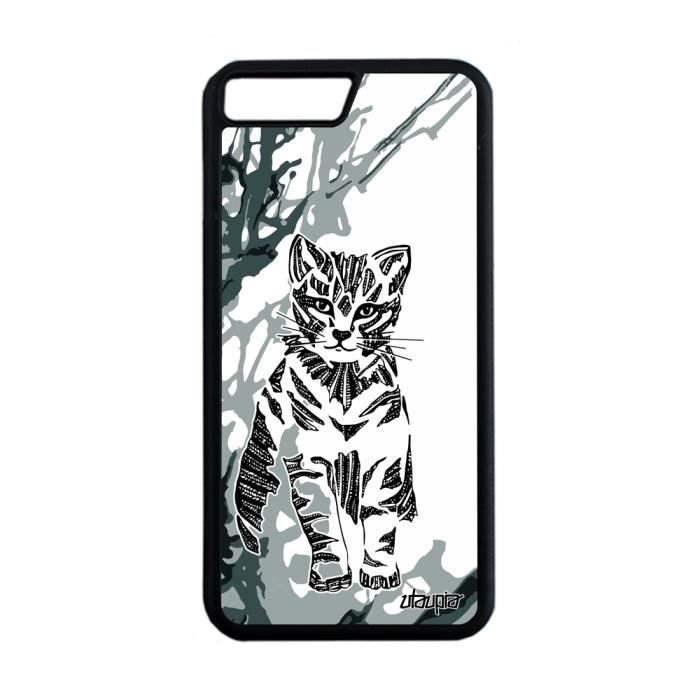 coque iphone 8 silicone chat