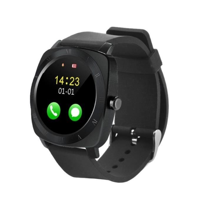 Smartwatch connecté Android iOS montre téléphone cardio ...