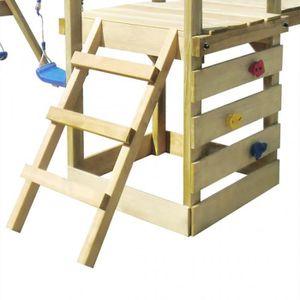 aire de jeux exterieur bois achat vente jeux et jouets pas chers. Black Bedroom Furniture Sets. Home Design Ideas