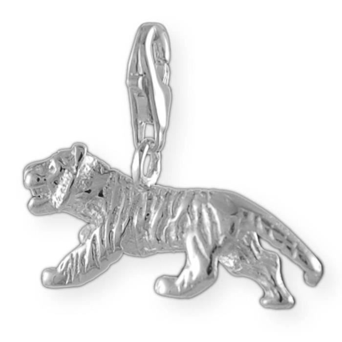Melina Charms Pendentif tigre Argent 925 U2AOJ