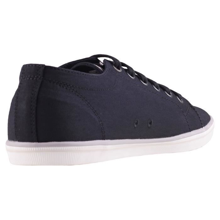 Fred Perry Kingston Mixte Baskets Gris Noir - 12 UK