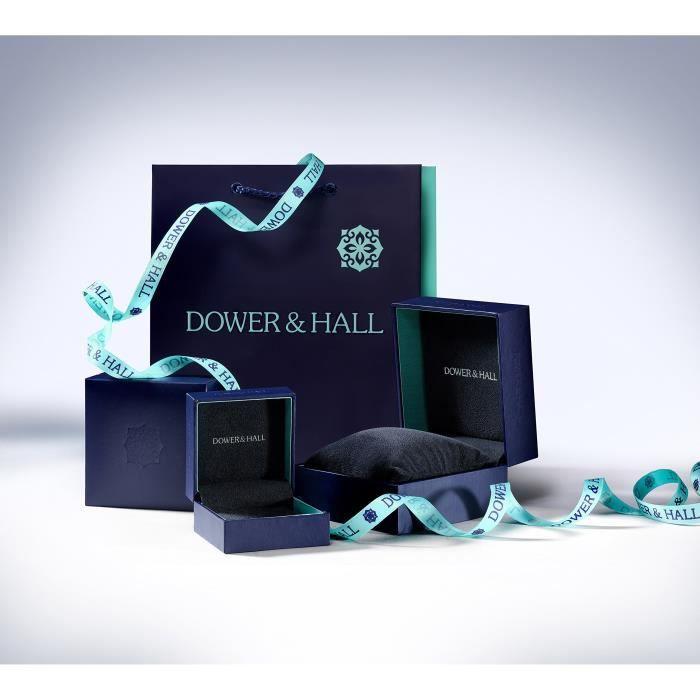 Dower Hall Pearlicious & Double En Argent Sterling Et Perles Deau Douce-boucles Doreille Clous DBADL