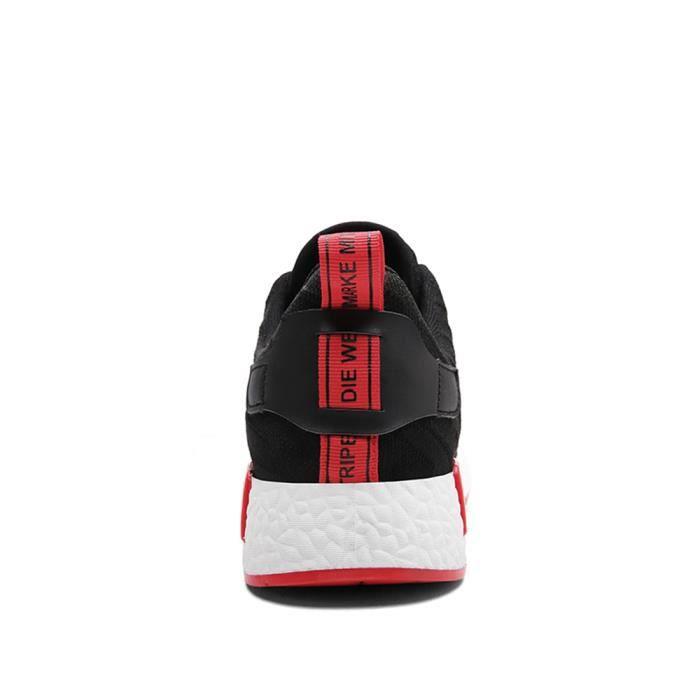 Chaussures de sport hommes De Marque De Luxe Basket mode homme Respirant Chaussures décontractées Chaussure de dssx319noir42 ne0hXn