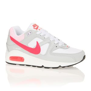 sports shoes f65fe d8fb9 BASKET NIKE Baskets Wmns Air Max Command Femme. Baskets basses en cuir ...