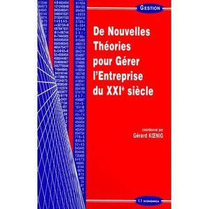 LIVRE COMPTABILITÉ De nouvelles théories pour gérer l'entreprise du X
