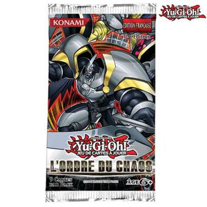 CARTE A COLLECTIONNER Yu Gi Oh - Booster L'Ordre du Chaos