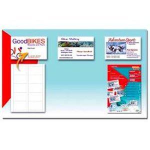 100 Cartes De Visite Predecoupees 85 X 54 Cm