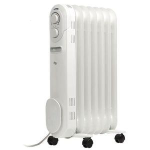 RADIATEUR D'APPOINT HQ Radiateur bain d'huile portable 1500 W blanc