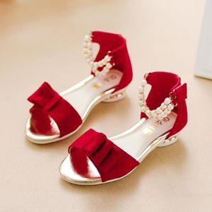 SANDALE - NU-PIEDS Enfant Bébés Sandales Fille Mode PU Chaussures Pou