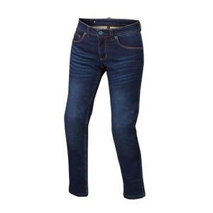 VETEMENT BAS Pantalon moto - Bering LADY DONOVAN Bleu - 46 (T5)