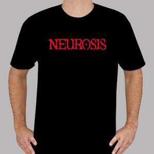 T-SHIRT Nouveau T-shirt Logo Neurosis Metal Rock Band Noir