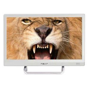 """Télévision  NVR-7412-16HD-B LED 16"""" HD Bla"""