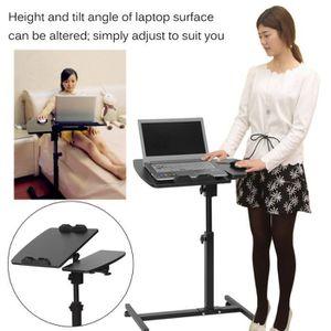 SUPPORT PC ET TABLETTE Table d'ordinateur portable réglable 360 degrés po