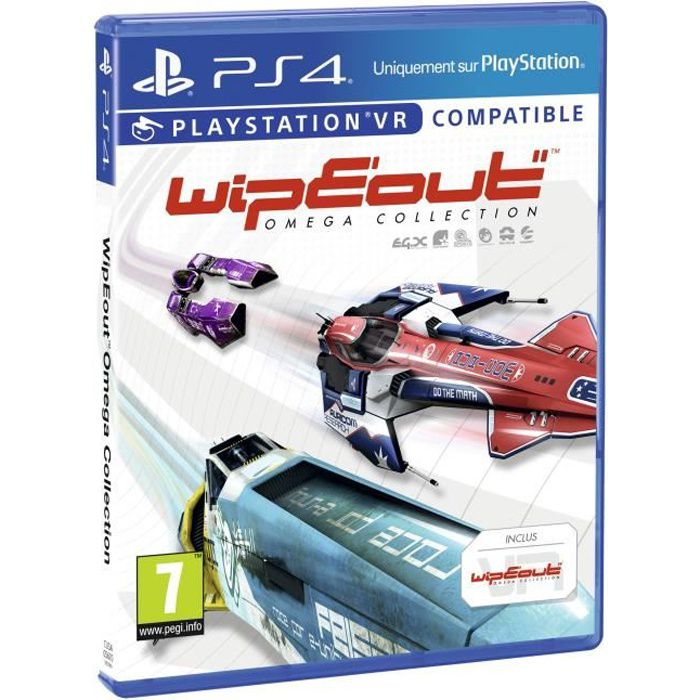 Wipeout Omega Collection Jeu PS4/VR
