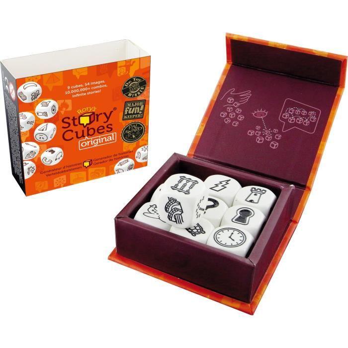 ASMODEE - Story Cube Original - Générateur d'histoires. 6 ans - 1 joueur et plusJEU DE SOCIETE - JEU DE PLATEAU