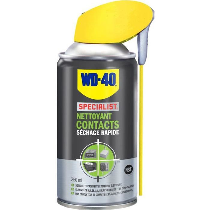 WD40 Nettoyant Contact SPECIALIST 250 ml (Aérosol)