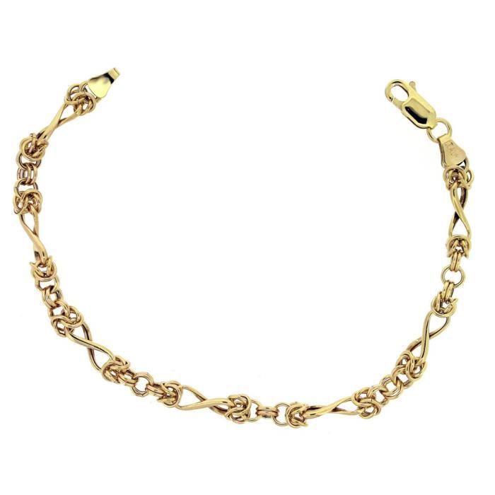 Bracelet - Femme - Or Jaune 375-1000 (9 Cts) 3.07 Gr Y9GY3