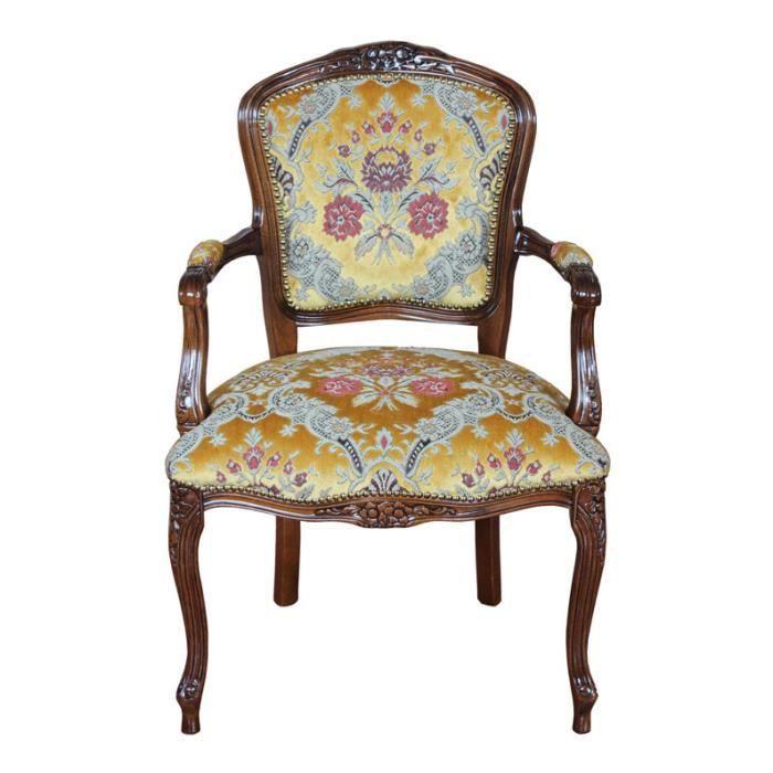 fauteuil louis xv achat vente pas cher. Black Bedroom Furniture Sets. Home Design Ideas