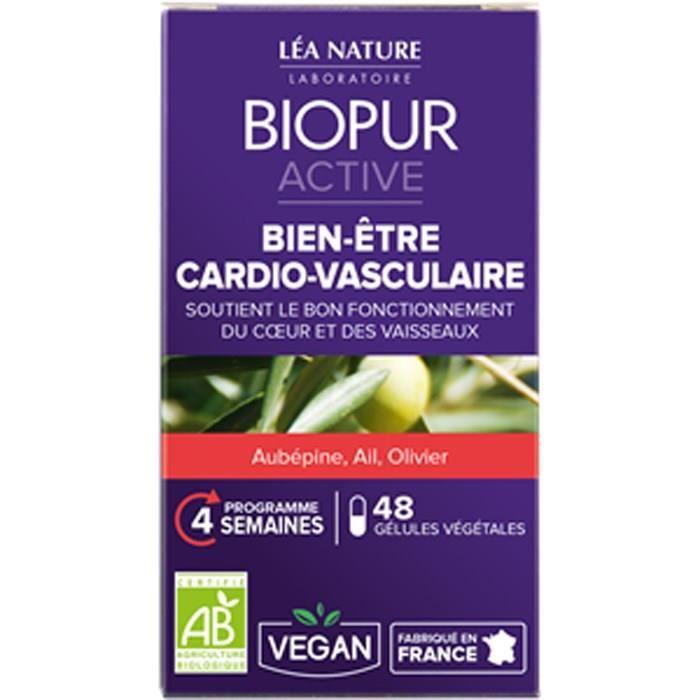 COMPLÉMENT ARTICULATION BIOPUR Gélules végétales - Bien-être cardio - 48 g
