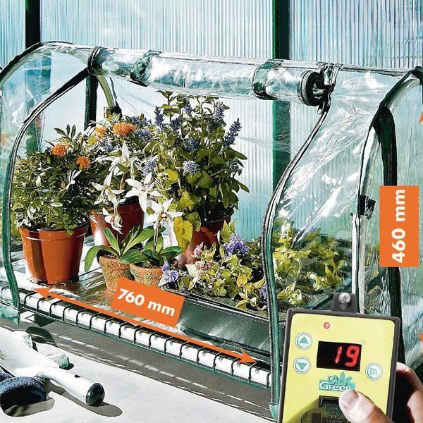 serre chauffante grand top propagator achat vente serre de jardinage serre chauffante grand. Black Bedroom Furniture Sets. Home Design Ideas
