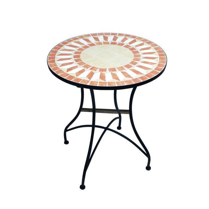 Table ronde en mosaique - Achat / Vente pas cher