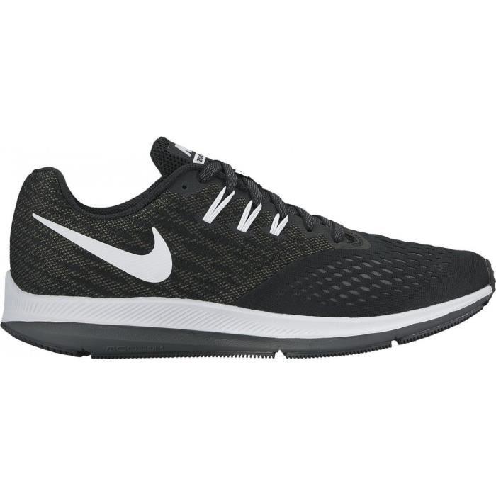 Nike Nike Zoom Winflo 2 807276  Noir - Achat / Vente basket  - Soldes* dès le 27 juin ! Cdiscount