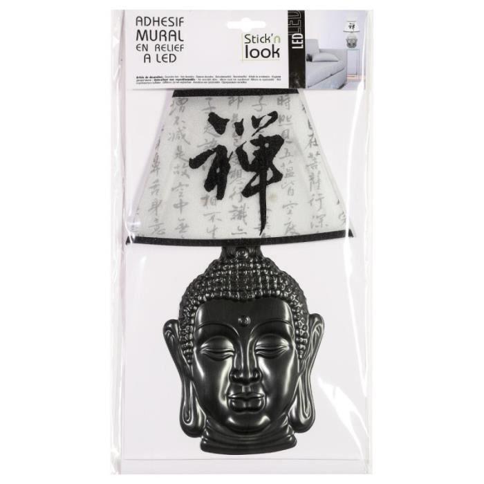 STICKERS Paris Prix - Sticker 3D Lampe Zen Gris n°4