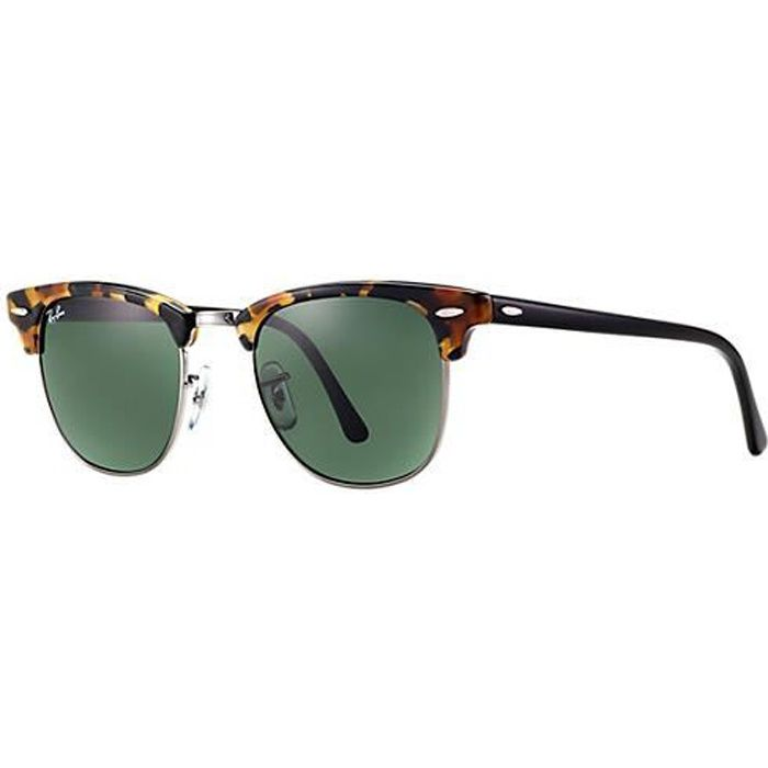 bf81a700d6dc38 Ray-Ban RB 3016 1157 - Clubmaster   51-21mm   Lunettes Soleil ...